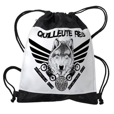 QUILLEUTE RES DRAWSTRING BAG