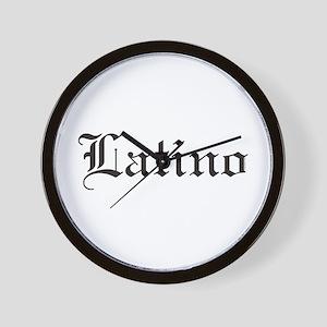 Latino Wall Clock