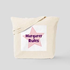 Margaret Rules Tote Bag