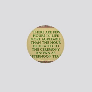 There Are Few Hours In Life - H James Mini Button