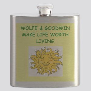 wolfe and goodwin Flask