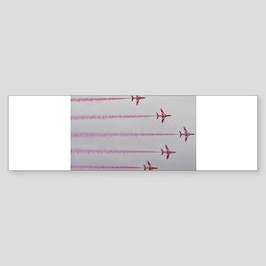 THE RED ARROWS Bumper Sticker