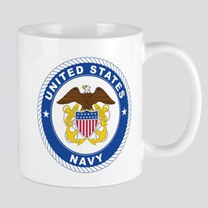 American Navy Symbol 11 oz Ceramic Mug