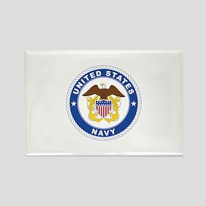American Navy Symbol Rectangle Magnet