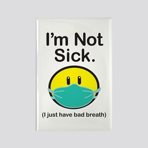Bad Breath Rectangle Magnet