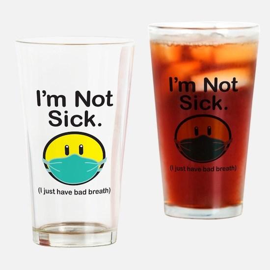 Bad Breath Drinking Glass