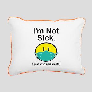 Bad Breath Rectangular Canvas Pillow