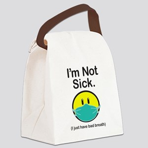 Bad Breath Canvas Lunch Bag