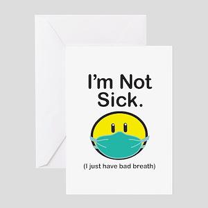 Bad Breath Greeting Card