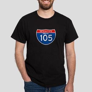 Interstate 105 - OR Dark T-Shirt