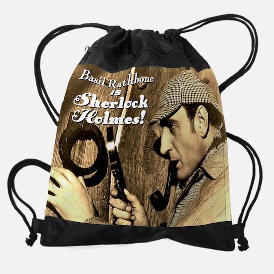 SherlockCover.png Drawstring Bag