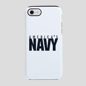 America's Navy Emblem iPhone 7 Tough Case