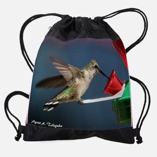 Day Two Hummingbird 9 Drawstring Bag