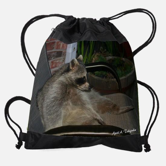 Day 5 Raccoon 200 Drawstring Bag