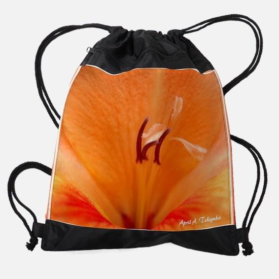 Day 7 Sun Kissed Gladiolus Drawstring Bag