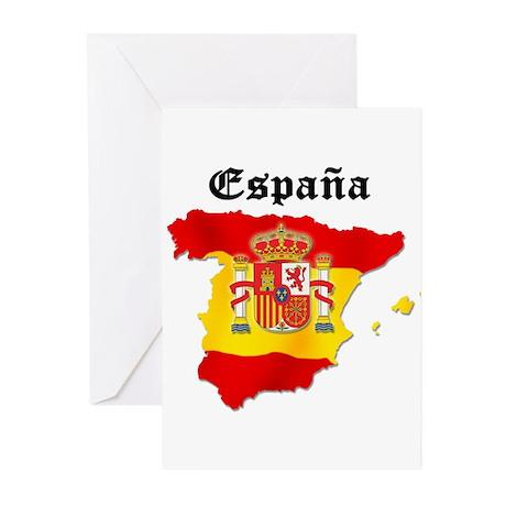 España Greeting Cards (Pk of 10)
