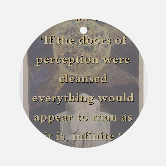 If The Doors Of Perception Were Cleansed - W Blak