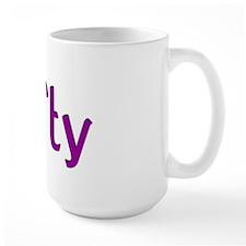 Large Lefty Mug - Purple lettering