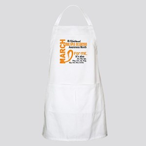 MS Month For Me Apron