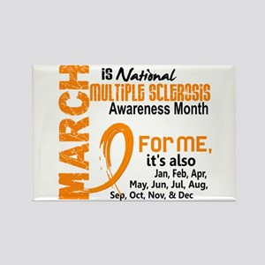 MS Month For Me Rectangle Magnet