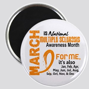 MS Month For Me Magnet