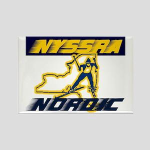 NYSSRA Nordic Rectangle Magnet