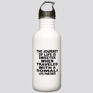 Traveled With Somali L Stainless Water Bottle 1.0L