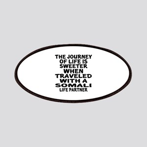 Traveled With Somali Life Partner Patch