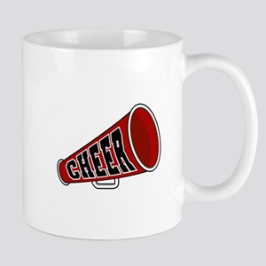 Red Cheer Megaphone Mug