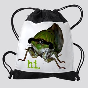 cicada.png Drawstring Bag
