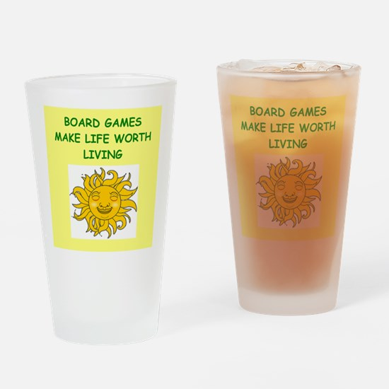 games Drinking Glass