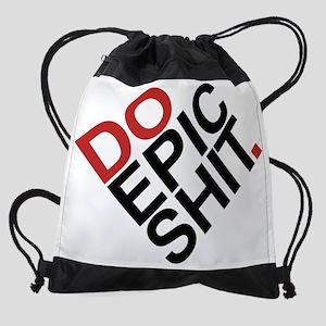 DoEpicShit2 Drawstring Bag