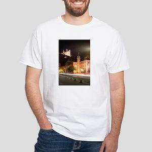 Lyon, France White T-Shirt