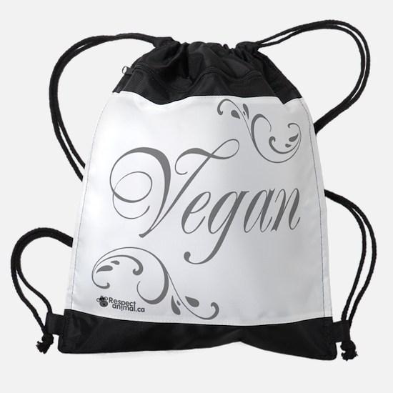 vegan-black-02.png Drawstring Bag