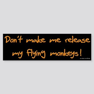 Flying Monkeys Bumper Sticker