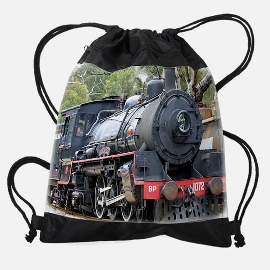 Zig Zag Railway Steam Locomotive 9J Drawstring Bag