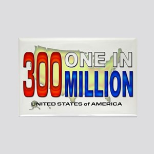300 Million Rectangle Magnet