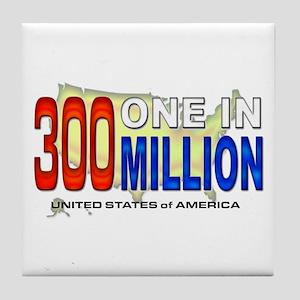 300 Million Tile Coaster