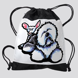 oes-ewe-full Drawstring Bag