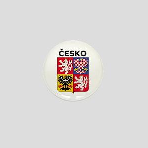 Česko Mini Button