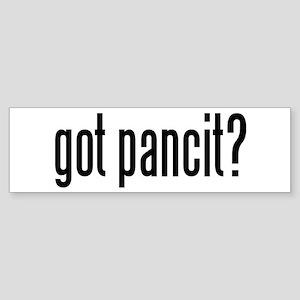 got pancit? Bumper Sticker