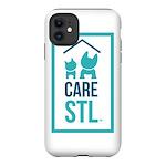 I Love CARE STL iPhone 12 Tough Case