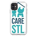CARE logo with border iPhone 12 Tough Case
