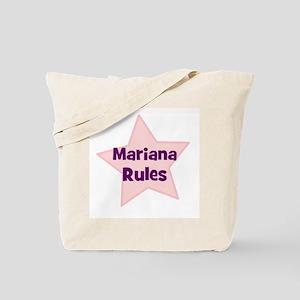 Mariana Rules Tote Bag