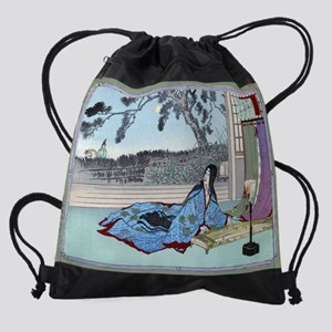Japanese Art painting.Asian Orienta Drawstring Bag