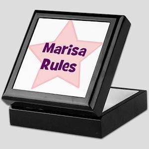 Marisa Rules Keepsake Box