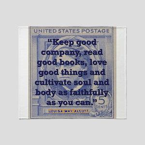 Keep Good Company - Alcott Throw Blanket