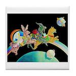 Midnight Moonrunners Tile Coaster
