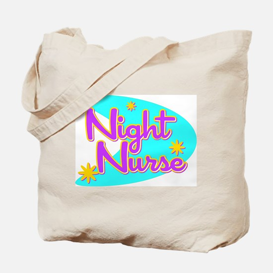 Night Nurse II Retro Style Tote Bag