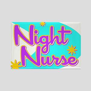 Night Nurse II Retro Style Rectangle Magnet